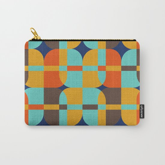 Geometric#20 Carry-All Pouch