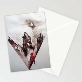 Red Cloak Stationery Cards
