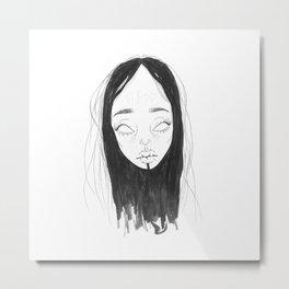 Space Babe #36 Metal Print