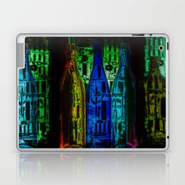 Landscape with microcircuits Laptop & iPad Skin