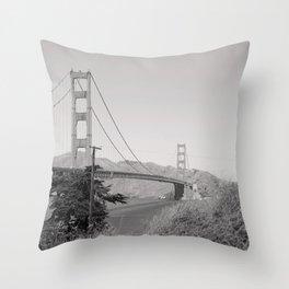 San Francisco State of Mind Throw Pillow