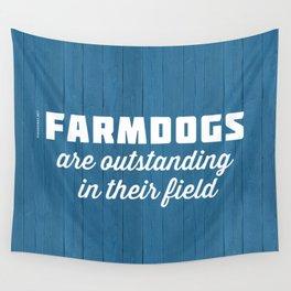 Outstanding Farmdogs Wall Tapestry