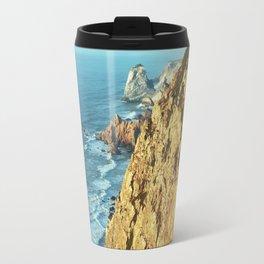 Cabo da Roca, Portugal Analog 6x6 Kodak Ektar 100 (RR 161) Travel Mug