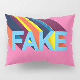 FAKE Pillow Sham