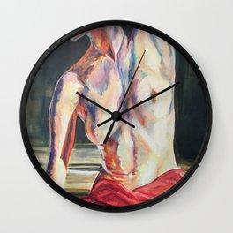 Nude Dancer Wall Clock