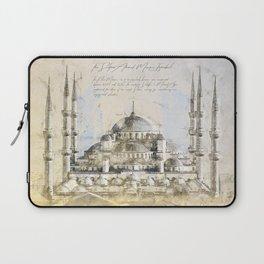 Blue Mosque, Istanbul Turkey Laptop Sleeve