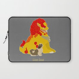 Shih Tzu Foo Dog Laptop Sleeve