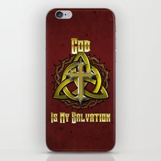 God Is My Salvation iPhone & iPod Skin