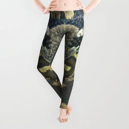 Golden Boa Leggings