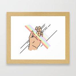 Touch Pt. 3 Framed Art Print