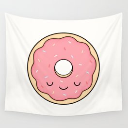 Donut - Pink Sprinkles Wall Tapestry