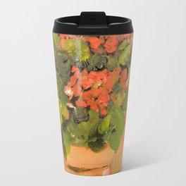 Geranium Pots Travel Mug