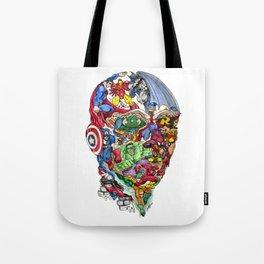 Heroic Mind Tote Bag