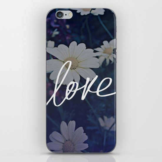 Love in Bloom iPhone & iPod Skin