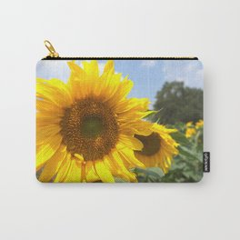 sunflower photography Carry-All Pouch