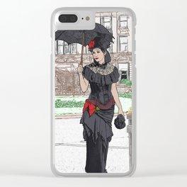 Valentina Clear iPhone Case