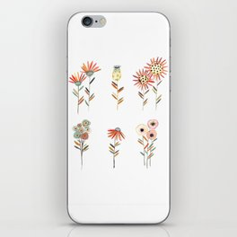 ABSTRACT FLORALS iPhone Skin