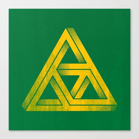 Penrose Triforce Canvas Print