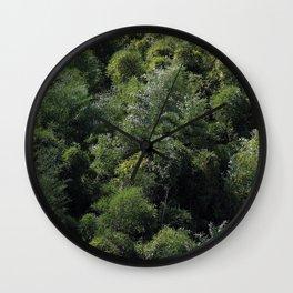 Bamboo Wall Clock