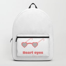 Heart eyes Backpack