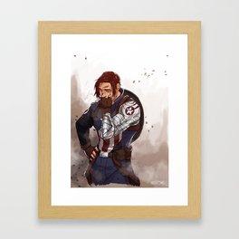 buckycap Framed Art Print