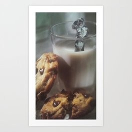 Cookies and Milk Art Print