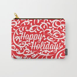 Holiday Swirl Carry-All Pouch