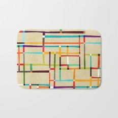 The map (after Mondrian) Bath Mat