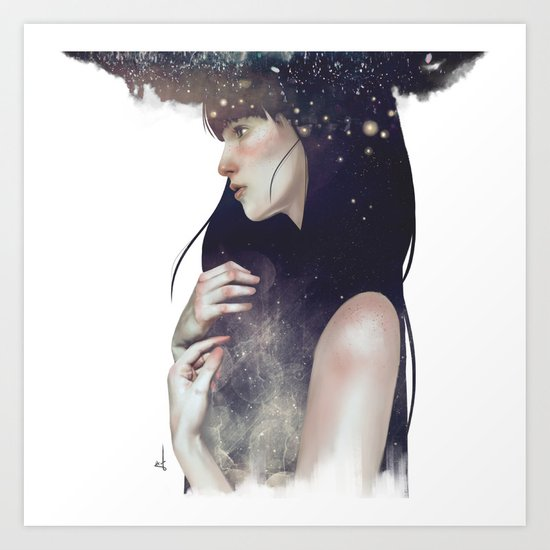 Crown of Stars Art Print