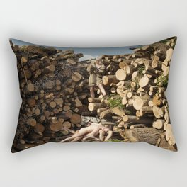 Champagne Deluxe Rectangular Pillow