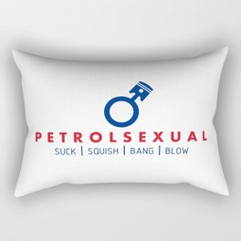 PETROLSEXUAL v5 HQvector Rectangular Pillow