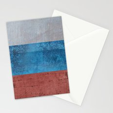 Russia Flag Stationery Cards