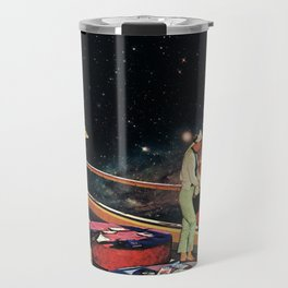 Look There - a Fish and a Galaxy Travel Mug