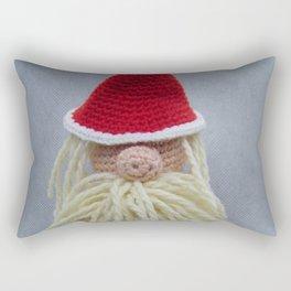 Happy White Christmas Rectangular Pillow