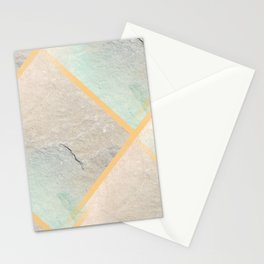 design in pastel tones -4b- Stationery Cards
