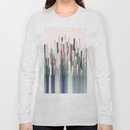 Cacti Stripe Pastel Long Sleeve T-shirt