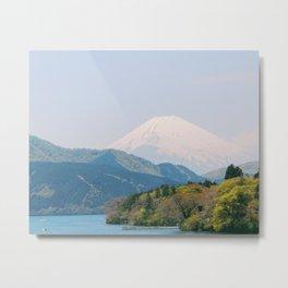 fuji from the lake Metal Print