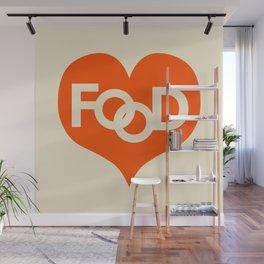 Food is My Love Wall Mural