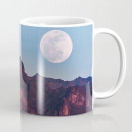 Super Blue Moon over Arizona #society6 #decor #buyart Coffee Mug