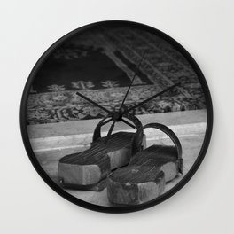 clog in mosque Wall Clock