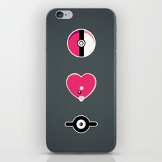 I Luv(disc) Pokémon iPhone & iPod Skin
