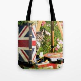 Hidden Cat-Eno Tote Bag
