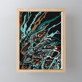Rainforest Rhythm Framed Mini Art Print