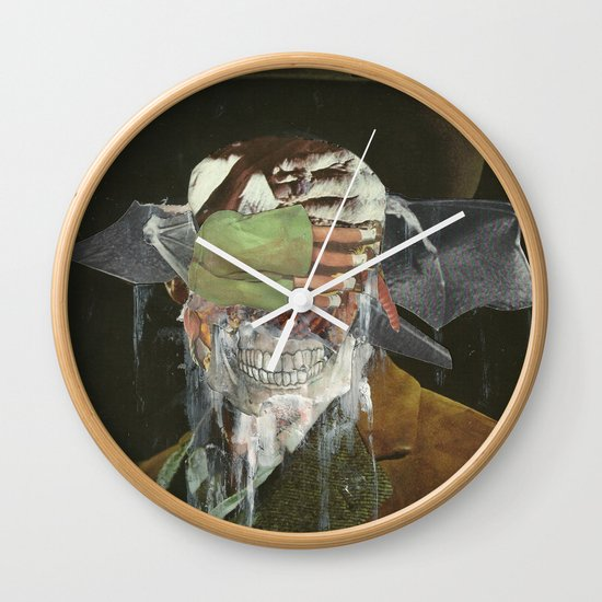 Leave me no choice but to plot my revenge  Wall Clock