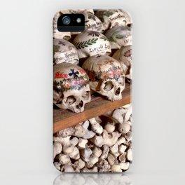 """Hallstatt, Austria Beinhaus """"Bone House"""" iPhone Case"""