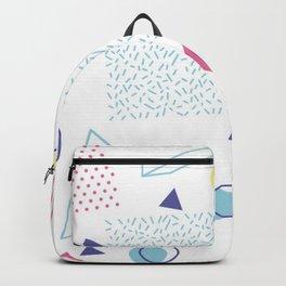 CUTE 80S INSPIRED GEOMETRIC PATTERN Backpack