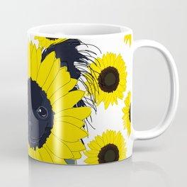 Sunflower Chihuahua Coffee Mug