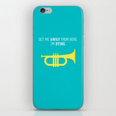 Get Me Away iPhone & iPod Skin