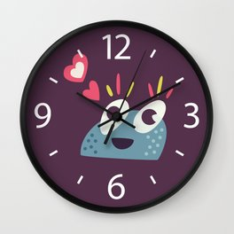 Kawaii Cute Candy Character Wall Clock