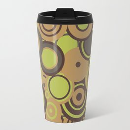 circles-orange-choc-lime Travel Mug